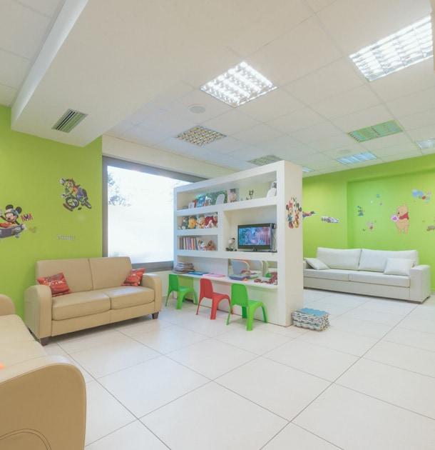 Μοντέρνος χώρος, φιλικός για το παιδί και τους γονείς