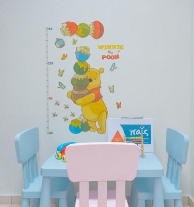 Δυνατότητα διαχωρισμού υγιών και άρρωστων παιδιών σε ξεχωριστούς χώρους